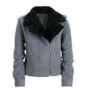 Aeropostale | Wool Blend Moto Jacket